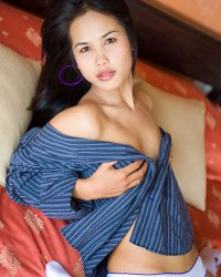 Your dress shirt nn  angelic asian lily koh slowly opens